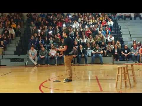 """Download Lagu  Ed Sheeran cover by Peyton Littleton  """"Perfect"""" High school talent show 2018 1st place Mp3 Free"""