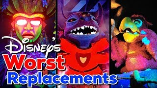Worst Disney Rides Replacements