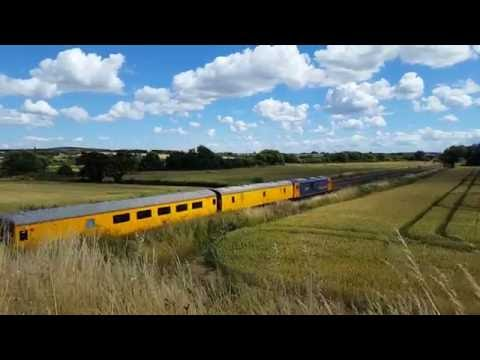 Class 73 Diesel Electric Locomotives 73964 and 73965 at Harrowden Junction on Sunday 17th July 2016
