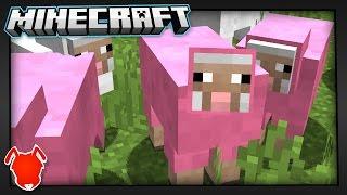 MINECRAFT WORLD SS FULL of PINK SHEEP?