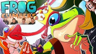 LAUGH Til You CRY! | FROG CLIMBING CHAMPIONS! (Frog Climbers w/ Friends)