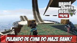 GTA V - Online - Rampa no Alto do Maze Bank!