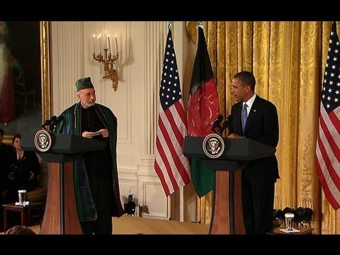 President Obama and President Karzai Hold a Press Conference