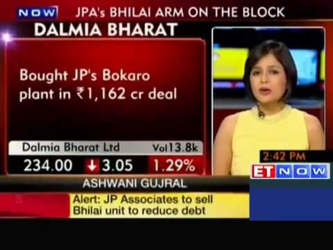 JP  Associates to sell Bhilai unit to Dalmia Cement