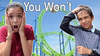 YOU WON'T DO IT!! Extreme Family Challenge Part 2
