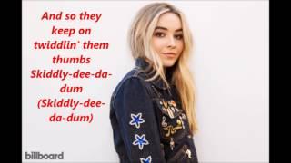 Download Lagu Sabrina Carpenter - Thumbs lyrics Gratis STAFABAND