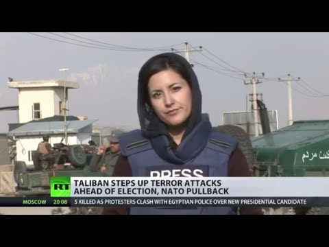 Taliban Militants Attack Afghan Election Office in Kabul :: Lucy Kafanov reports