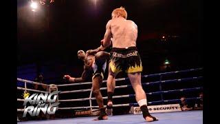 King in the Ring Trans Tasman 8 Man Quarter Final 3: Kim Loudon vs Israel Adesanya