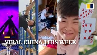 Viral China This Week: a street workout pro, and more