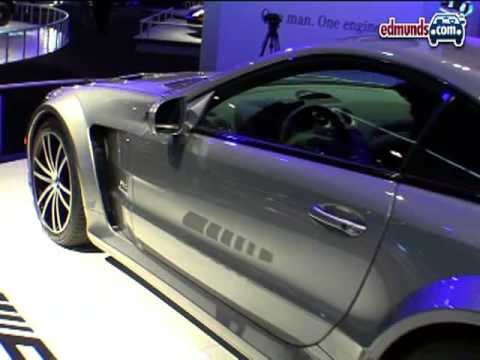 Mercedes SL65 Black @ 2008 LAAS