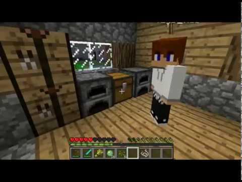 Minecraft выживание в плоском мире №2