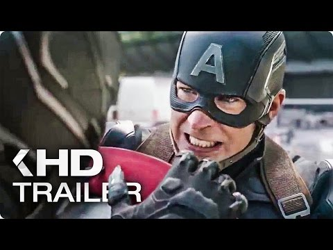CAPTAIN AMERICA 3: Civil War Trailer Compilation (2016)