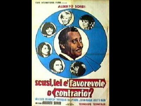 Alberto Sordi,Anita Ekberg-SCUSI LEI E' FAVOREVOLE O CONTRARIO?-il film(1966)