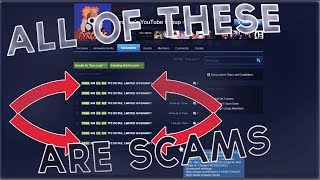 [Tf2] This Steam Group Scam Needs To Be Stopped...