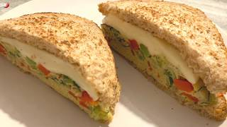 Lock Down Breakfast Recipe, Mozzarella Cheese Healthy Breakfast, Breakfast Sandwich Recipe