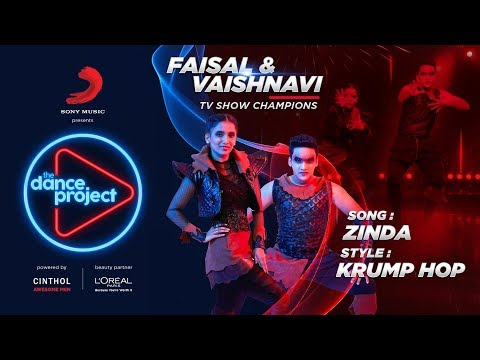 Zinda - The Dance Project | Faisal Vaishnavi | Krump Hop | Bhaag Milkha Bhaag