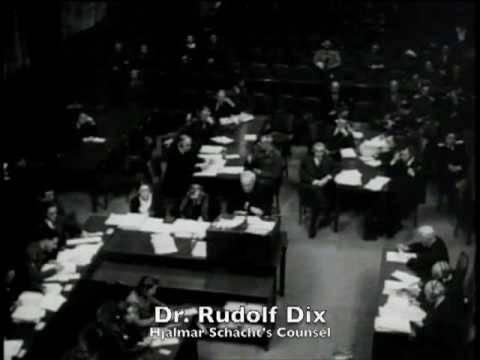 Nuremberg Day 117 Schacht