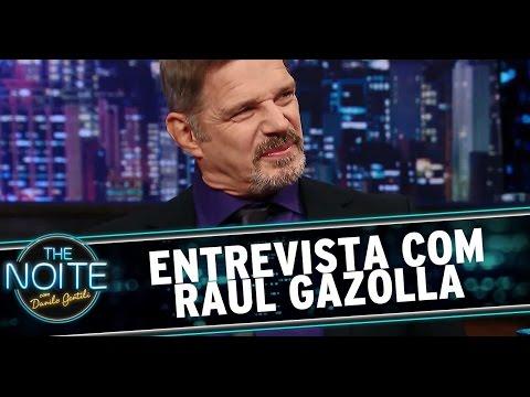 The Noite (29/09/14) - Entrevista com Raul Gazolla