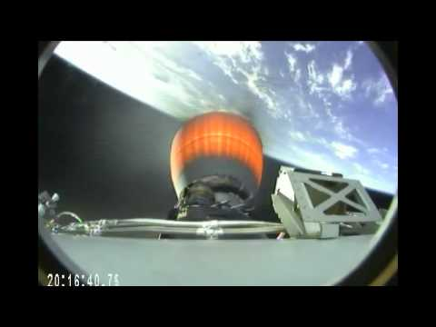 SpaceXDragonCommercial Cargo Ship Speeds to the International Space Station