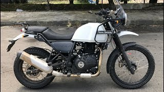 Royal Enfield Himalayan BS4 Review - FI Works Well | Faisal Khan