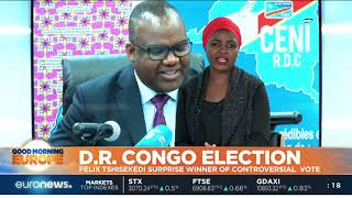 DRC Election: Félix Tshisekedi surprise winner of controversial vote | #GME