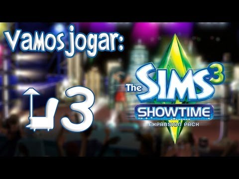 The Sims 3 Showtime Gameplay - Começando Uma Carreira Ep.3 video