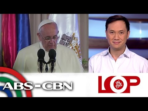 In the Loop: Pope Francis rocks Manila