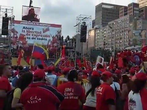 Caracas Marcha 2 de junio 2007
