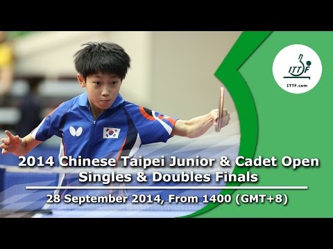 2014 Chinese Taipei Junior & Cadet Open (Singles & Doubles Finals)