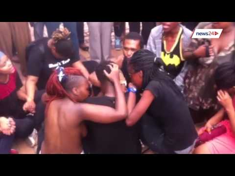 Wits 'naked' protest: Students protest against rape culture in solidarity with Rhodes thumbnail
