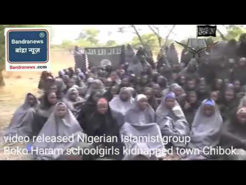 A video released by Nigerian Islamist group Boko Haram appears to show schoolgirls kidna