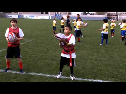 Rookie Rugby - Ball Familiarization