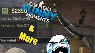 25k SUB GIVEAWAY & CS GO Funny Moments & More in Competitive