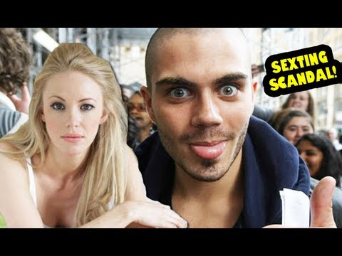 THE WANTED'S MAX GEORGE in Girlfriend Sexting Scandal