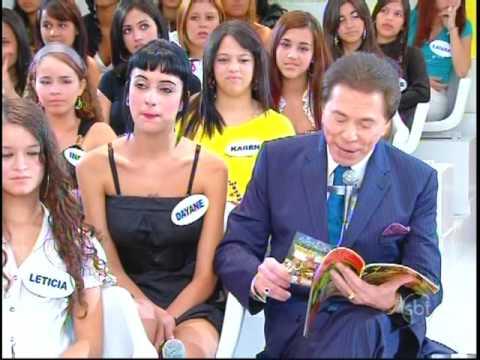 Barbara Koboldt no Programa Sílvio Santos parte 1