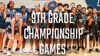 2019 U.S. OPEN BASKETBALL CHAMPIONSHIPS // 9th Grade Finals