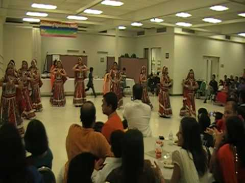 Group Dance Performance On Medley Of Rajasthani Songs. video