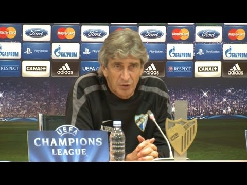 Pressekonferenz des Malaga C.F. vor dem Champions League Spiel gegen Borussia Dortmund