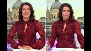 Susanna Reid admits she's 'drugged up to eyeballs' as she's urged to down booze