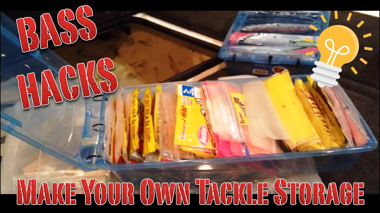 Soft Plastic Storage Tip For Bass Fishing Youtube