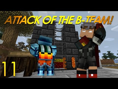 Minecraft: Attack Of The B-Team Modded Survival (11) TINKER'S CONSTRUCT MOD Pt. 1