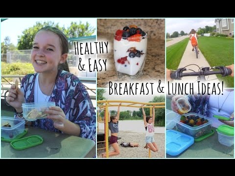 Stay Healthy & Fit for School: Breakfast and Lunch Ideas!