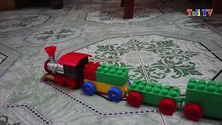 Chú Bé Chơi Cùng Đoàn Tàu Hỏa, Ghép Hình Tàu Hỏa Cùng bé