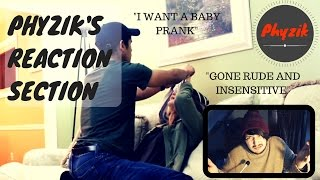 Forced Sex Prank (GONE RUDE AND INSENSITIVE) - Phyzik's Reaction Section