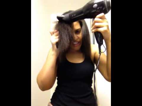 How To Blowdry Your Hair Like The Salon! [request]