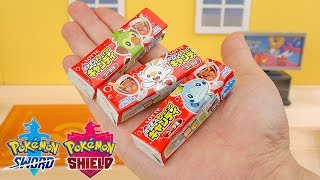 Pokemon Sword and Shield Candy | Grookey , Scorbunny and Sobble