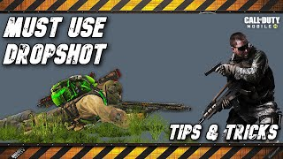 Dropshot it's a must have on your gameplay - Call of Duty Mobile - Battle Royale - Tips and Tricks