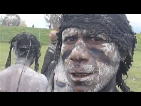Cannibalism and Head Hunting in Papua New Guinea