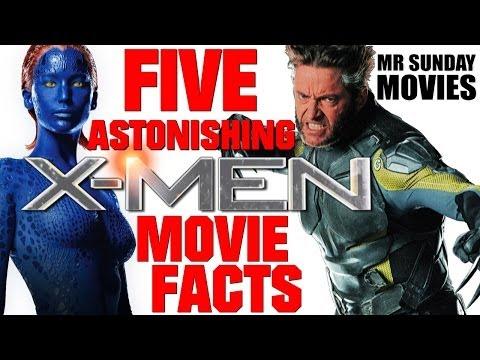 Five Astonishing X-MEN Movie Facts