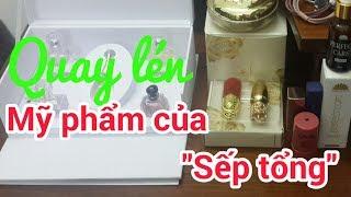 QUAY LÉN MỸ PHẨM CỦA SẾP TỔNG | Vietnam Family | Gia đình Việt | Huy Cường TV